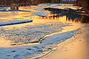 Ice on Seine River<br />