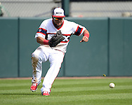CHICAGO - AUGUST 28:  Melky Cabrera #53 of the Chicago White Sox fields against the Seattle Mariners on August  28, 2016 at U.S. Cellular Field in Chicago, Illinois.  The White Sox defeated the Mariners 4-1.  (Photo by Ron Vesely/MLB Photos via Getty Images)  *** Local Caption *** Melky Cabrera