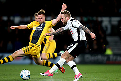 Johnny Russell of Derby County scores a goal - Mandatory by-line: Robbie Stephenson/JMP - 04/04/2017 - FOOTBALL - Pride Park Stadium - Derby, England - Derby County v Fulham - Sky Bet Championship