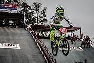 #68 (BUCHANAN Caroline) AUS at the 2014 UCI BMX Supercross World Cup in Santiago Del Estero, Argentina.