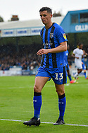 Gillingham FC midfielder Callum Reilly (13) during the EFL Sky Bet League 1 match between Gillingham and Peterborough United at the MEMS Priestfield Stadium, Gillingham, England on 22 September 2018. Picture by Martin Cole