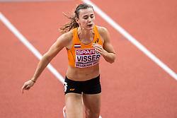 03-03-2017  SRB: European Athletics Championships indoor day 1, Belgrade<br /> In een lege Kombank Arena wordt de eerste dag van het Europees Kampioenschap gehouden / Nadine Visser