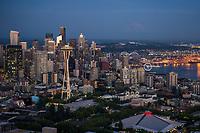 Seattle Skyline @ Blue Hour