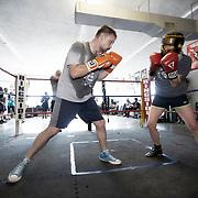 Boxing Gym Training at Sweet Z's Boxing Gym in Kansas City, Kansas, 66106.