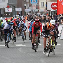 03-03-2020: Wielrennen: GP Le Samyn: vrouwen: Dour: Lonneke Uneken
