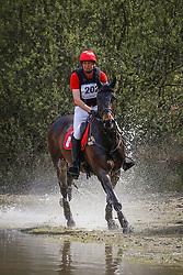 De Cleene Pieter, BEL, Djack de la Vega<br /> Nationale LRV-Eventingkampioenschap Minderhout 2017<br /> © Hippo Foto - Kris Van Steen<br /> 30/04/17