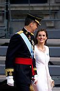 061914 Inauguration Of King Felipe VI and Queen Letizia