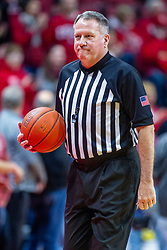 NORMAL, IL - February 26: Gary Maxwell during a college basketball game between the ISU Redbirds and the Bradley Braves on February 26 2020 at Redbird Arena in Normal, IL. (Photo by Alan Look)
