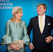 dag 3 Koning Willem-Alexander en Koningin Maxima brengen een werkbezoek aan de Duitse