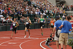 Olympic Trials Eugene 2012: men's 1500 meter final, finish, Leonel Manzano
