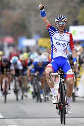 March 9, 2018 - Vence, France - RUDY MOLARD (FRA) of FDJ wins Paris - Nice: Stage 6.(Credit Image: © Panoramic via ZUMA Press)