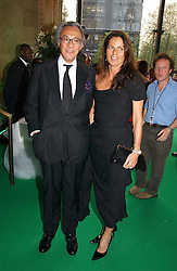 DAVID TANG and his wife LUCY  at the NSPCC's Dream Auction held at The Royal Albert Hall, London on 9th May 2006.<br /><br />NON EXCLUSIVE - WORLD RIGHTS