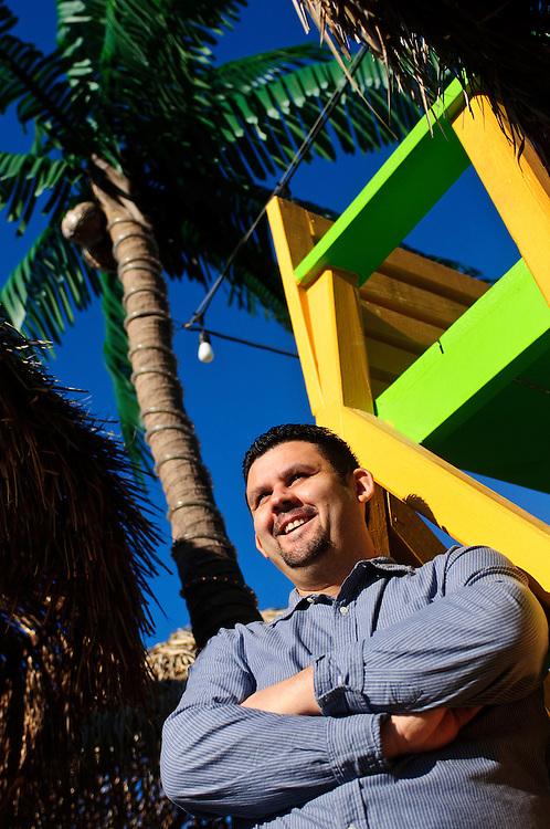Alejandro Guerra is owner of La Palapa Mariscos in Chicago's McKinley Park neighborhood.