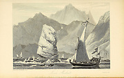 Near Mascat, From the book ' The Oriental annual, or, Scenes in India ' by the Rev. Hobart Caunter Published by Edward Bull, London 1836 engravings from drawings by William Daniell