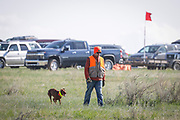 SHOT 5/9/20 8:51:54 AM - Various pointing breeds compete in the Vizsla Club of Colorado Licensed Hunt Test Premium at the Rocky Mountain Sporting Dog Club Grounds in Keenesburg, Co. (Photo by Marc Piscotty / © 2020)