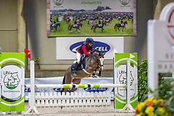 Caers Renée, BEL, Noa van Solwerd<br /> Nationaal Indoor Kampioenschap Pony's LRV <br /> Oud Heverlee 2019<br /> © Hippo Foto - Dirk Caremans<br /> 09/03/2019