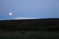 Night landscape, The Sally Gap, Wicklow, Ireland