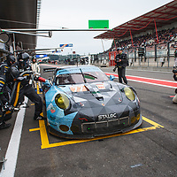 #77, Dempsey Proton Racing, Porsche 911 RSR (2016), driven by Christian Ried, Matteo Cairoli, Marvin Dienst at WEC 6 Hours of Spa-Francorchamps 2017, Spa-Francorchamps race circuit, on 06.05.2017