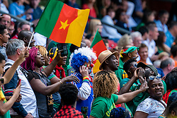 15-06-2019 FRA: Netherlands - Cameroon, Valenciennes<br /> FIFA Women's World Cup France group E match between Netherlands and Cameroon at Stade du Hainaut / Support fan Cameroon