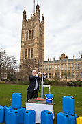 David Crausby  MP. Marking World Water Day, over 40 MP's walked for water at Westminster, London at an event organised by WaterAid and Tearfund. Globally hundreds of thousands of people took part in the campaign to raise awareness of the world water crisis.