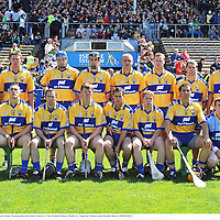 22 June 2008; The Clare team. GAA Hurling Munster Senior Championship Semi-Final, Limerick v Clare, Semple Stadium, Thurles, Co. Tipperary. Picture credit: Brendan Moran / SPORTSFILE