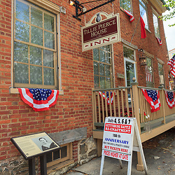 Gettysburg, PA, USA - June 30, 2013: The Tillie Pierce House on Baltimore Street in Gettysburg.