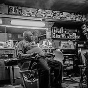Bert's Barber Shop, Aliquippa PA.
