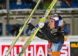 30.12.2011, Schattenbergschanze / Erdinger Arena, GER, Vierschanzentournee, FIS Weldcup, Ski Springen, im Bild Gregor Schlierenzauer (AUT, 1. Platz) // Gregor Schlierenzauer of Austria first place, during of FIS World Cup Ski Jumping in Oberstdorf, Germany on 2011/12/30. EXPA Pictures © 2011, PhotoCredit: EXPA/ P.Rinderer