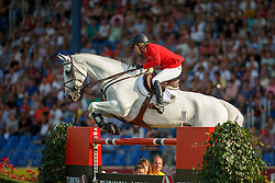 Michaels-Beerbaum Meredith, (GER), Fibonacci 17<br /> Individual competition round 3 and Final Team<br /> FEI European Championships - Aachen 2015<br /> © Hippo Foto - Dirk Caremans<br /> 21/08/15