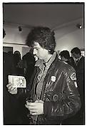 BOGGS, DUGGIE FIELDS PRIVATE VIEW, ALBERMARLE GALLERY, 27 OCTOBER 1987.