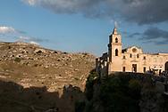 St. Pietro Caveoso  Church at sunset