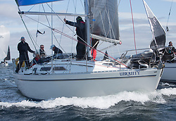 Clyde Cruising Club's Scottish Series 2019<br /> 24th-27th May, Tarbert, Loch Fyne, Scotland<br /> <br /> Day 1, 3841C, Ubiquity,  Fairlie Yacht Club, Moody 336<br /> <br /> Credit: Marc Turner / CCC