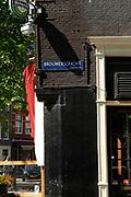 Amsterdam - Netherlands . The  Brouwersgracht .,
