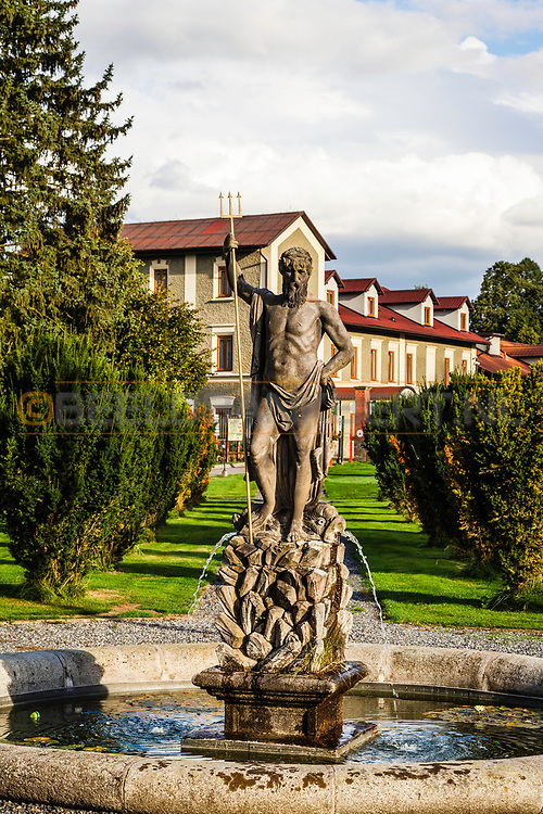 18-09-2015: Golf & Spa Resort Konopiste in Benesov, Tsjechië.<br /> Foto: Beeld van Neptunus