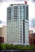 W Hotel, Hoboken, NJ for Papp Iron Works, Inc
