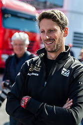 February 28, 2019 - Montmelo, BARCELONA, Spain - CATALONIA, BARCELONA, SPAIN, 28 February. #8 Romain GROSJEAN driver of Renalut f1 team during the winter test at Circuit de Barcelona Catalunya. (Credit Image: © AFP7 via ZUMA Wire)