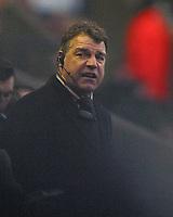 Photo: Paul Thomas.<br />Bolton Wanderers v Liverpool. The Barclays Premiership.<br />02/01/2006.<br />Bolton manager Sam Allardyce.