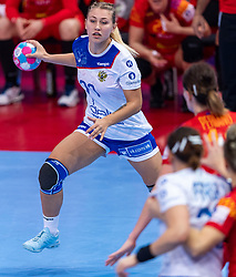 14-12-2018 FRA: Women European Handball Championships Russia - Romania, Paris<br /> First semi final Russia - Romania 28 - 22 / Yaroslava Frolova #77 of Russia