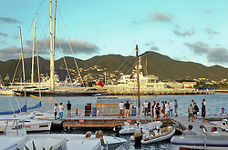 06 April 2011. St Maarten, Antilles, Caribbean.<br /> Crew of the Antiki arrive in the islands following their epic 9 week trans-Atlantic raft voyage from the Canary islands. <br /> Crew; John Russell, solicitor and UK resident, David Hildred, sailing master and British Virgin Islands resident, Anthony Smith (84 yrs old) British adventurer, Dr Andrew Bainbridge of Alberta, Canada.<br /> Photo; Charlie Varley/varleypix.com