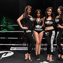 Ring Girls, People and Venue Shots
