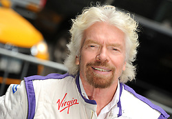 Sir Richard Branson Lights up the Empire State Building in DS Virgin Racing Colors in New York City, NY, USA on July 14, 2017. Photo by Dennis Van tine/ABACAPRESS.COM