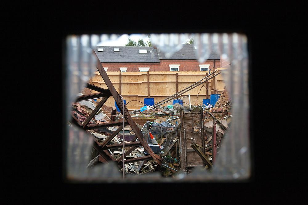 Derelict theatre, Green Lane, Derby