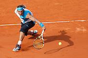 Roland Garros. Paris, France. June 10th 2007..Men's Final..Rafael NADAL against Roger FEDERER.