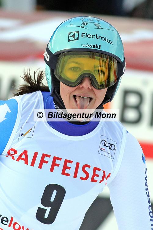 Wendy Holdener anlässlich des Audi FIS Ski World Cups 2018 der Frauen in Lenzerheide