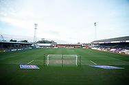 General view of The Abbey during the EFL Sky Bet League 2 match between Cambridge United and Cheltenham Town at the Abbey Stadium, Cambridge, England on 23 February 2021.