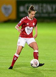 Ella Mastrantonio of Bristol City Women - Mandatory by-line: Dougie Allward/JMP - 07/10/2020 - FOOTBALL - Twerton Park - Bath, England - Bristol City Women v London Bees - FA Continental Cup