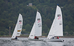 Largs Regatta Week 2015, hosted by Largs Sailing Club and Fairlie Yacht Club<br /> <br /> RS 200 Fleet<br /> <br /> Credit Marc Turner