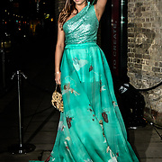Amber le Bon Arrivers Naked Heart Foundation, helping children with special needs hosts the London's Fabulous Fund Fair 2019 with LuisaViaRoma at the Roundhouse on 18 Feb 2019, London, UK.