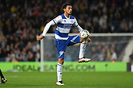 QPR midfielder Andre Dozzell (17) controls the ball during the EFL Sky Bet Championship match between West Bromwich Albion and Queens Park Rangers at The Hawthorns, West Bromwich, England on 24 September 2021.