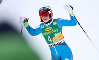ALPINT , MARIBOR,SLOVENIA,08.JAN.17 - ALPINE SKIING - FIS World Cup, slalom, ladies. Image shows the rejoicing of Nina Løseth (NOR). <br /> <br /> NORWAY ONLY